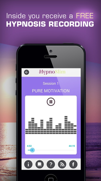 HYPNOSLIM WEIGHT LOSS HYPNOTHERAPY PROGRAM screenshot-4