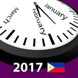2017 Philippines Holiday Calendar