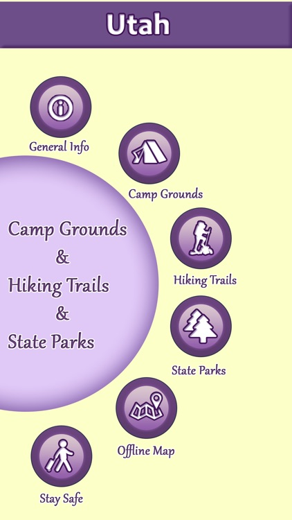 Utah Campgrounds & Hiking Trails,State Parks