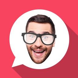 Emoji Me: Make Face Emojis & Real Selfie Stickers