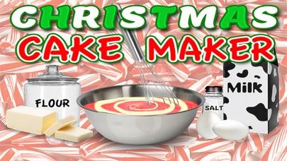 Christmas Cake Maker Holiday Dessert Candy Food