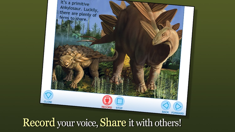 A Busy Day for Stegosaurus - Smithsonian screenshot-3