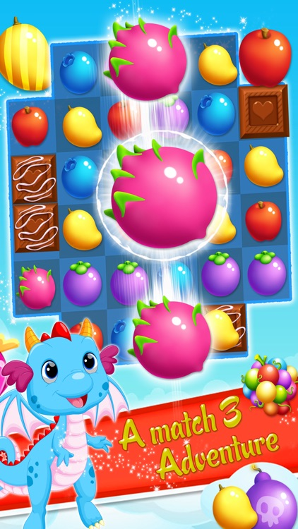 Fruit Garden Mania - Match 3 screenshot-3