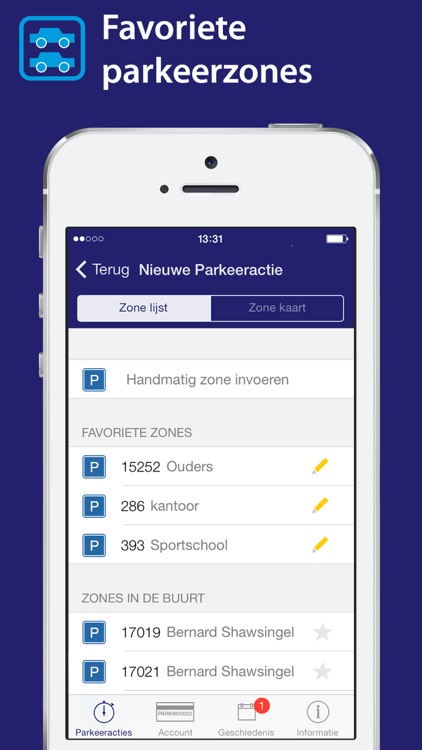 Park-line App screenshot-2