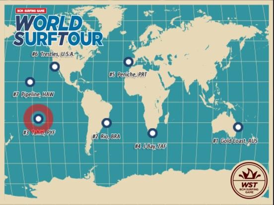 Surfing Game - World Surf Tour Screenshots