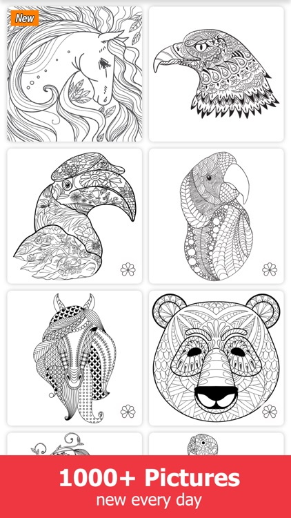 Brush Pro - Coloring Book for Adults screenshot-1