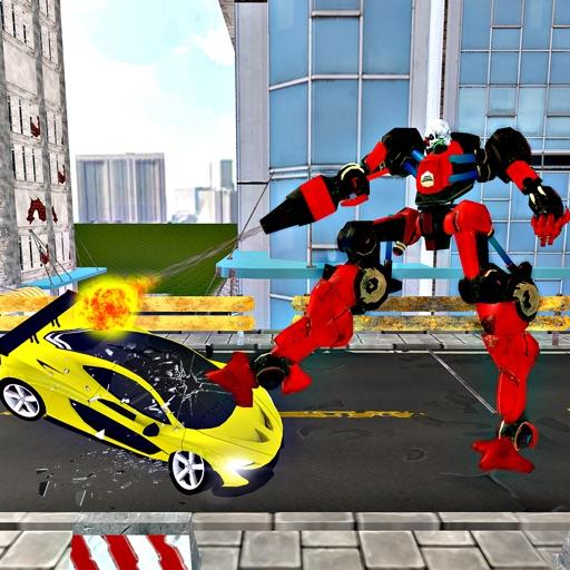 Robot Car Crusher 2K17 - Demolition Derby iOS App