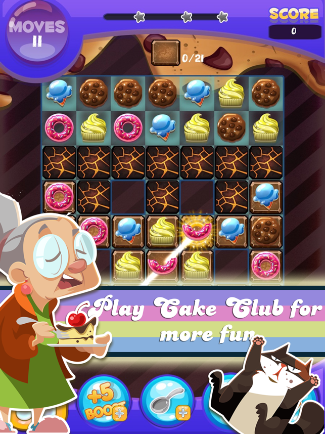 ‎Cake Crush - Match 3 Game Screenshot