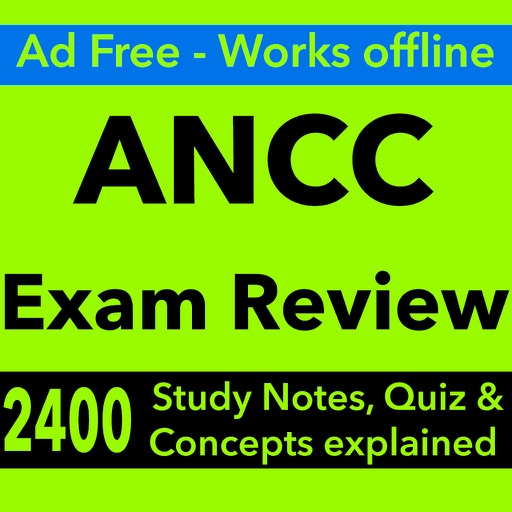 ANCC Exam Review & Study Guide 2017- Terms & Q&A iOS App
