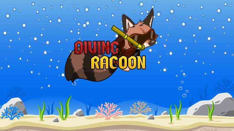 Diving Racoon