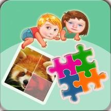 幼儿早教拼图游戏大全2- 儿童拼动物