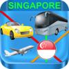 Singapore MRT & LRT Maps