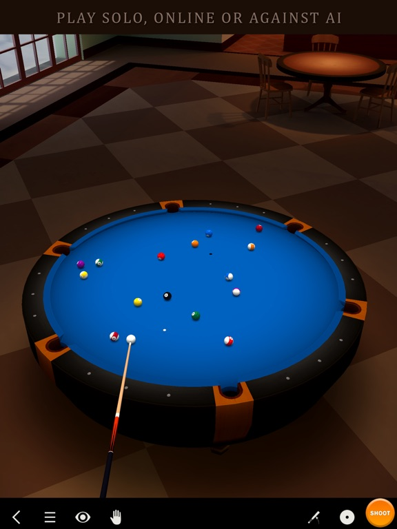 Screenshot #1 for Pool Break 3D Billiards 8 Ball, 9 Ball, Snooker
