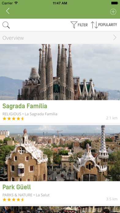 Barcelona Guide - mTrip Screenshot 4