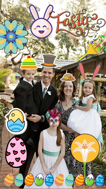 Easter Sticker - Holiday Photo Fun