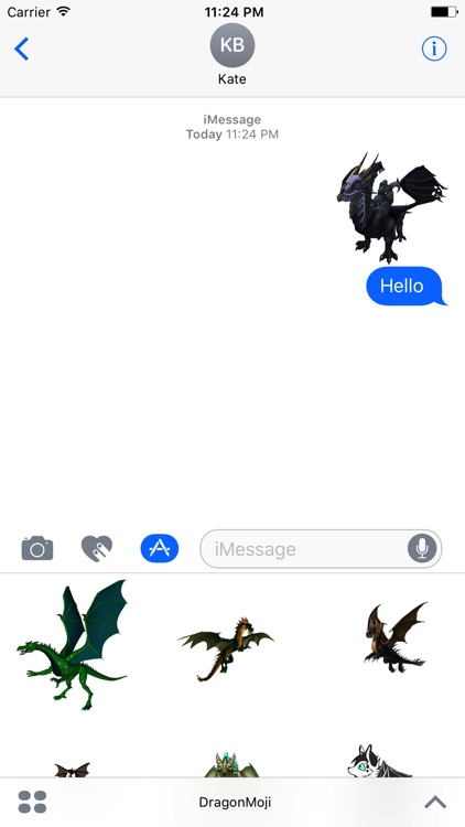 DragonMoji - The Dragon Stickers