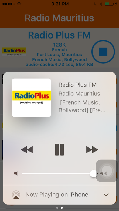 Radio Mauritius - Radio Ile Maurice screenshot three