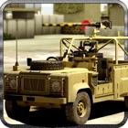 戦闘ジープドライビングシミュレータ - エクストリームチャレンジ icon