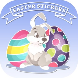 Easter Stickers for Messages – Cute Eggs & Emoji