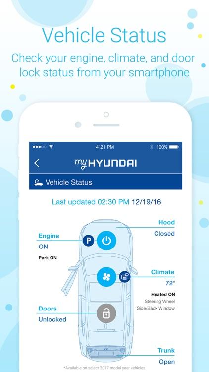 MyHyundai with Blue Link screenshot-4