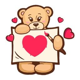 Love Sign - Valentine Stickers