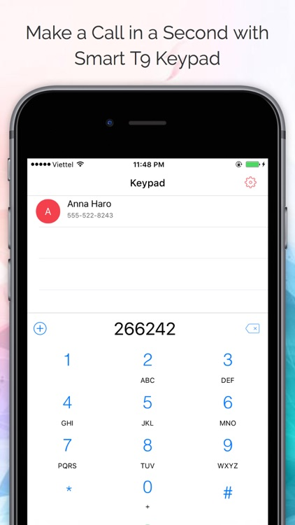 Air Dialer Pro - Fastest Dial Phone Widget screenshot-1