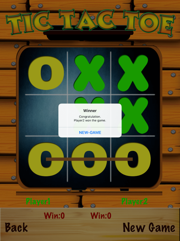 TicTacToe - One & Two Player screenshot 10