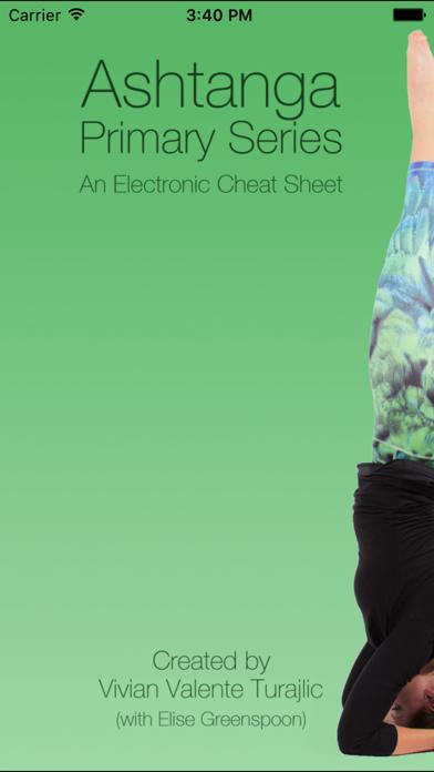Ashtanga Yoga - Primary Series Cheat Sheetのおすすめ画像1