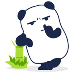 Funny Panda - Animated Stickers And Emoticons
