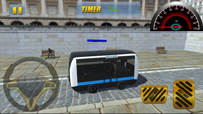 Down Town City Bus Driver: Transport Simulation 3D screenshot two