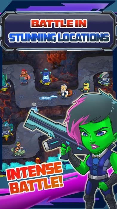 Galaxy Super-Hero War 2: TD Game screenshot