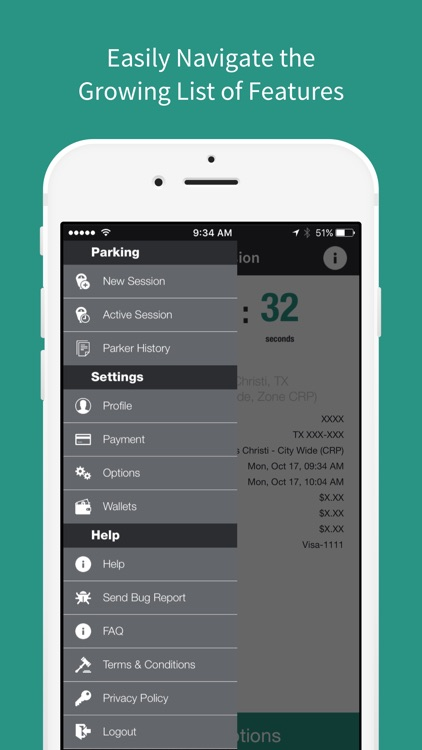 Park CC - Mobile Payments For Parking screenshot-4