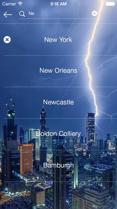 Weather radar - map weather forecast channel屏幕截圖5