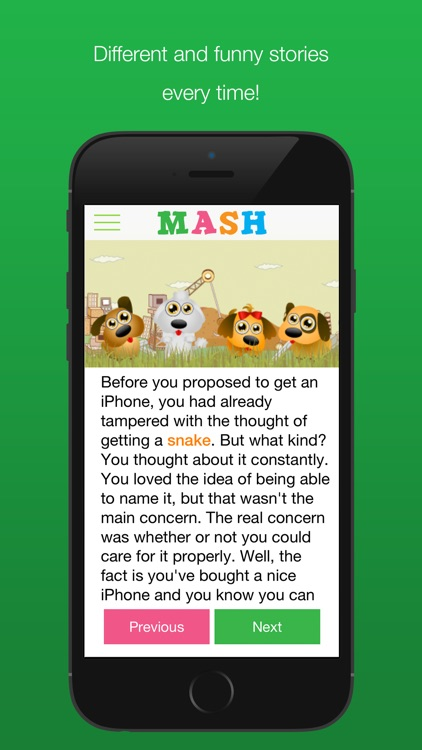 MASH Touch screenshot-4
