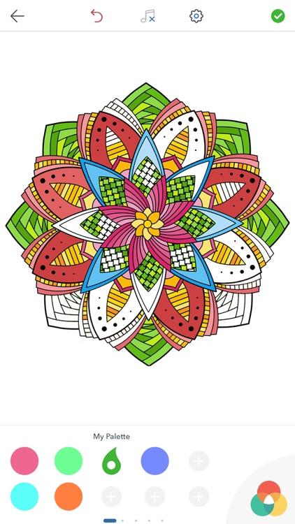 Magic Mandalas - Coloring Book for Adults screenshot-4