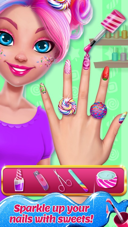 Candy Makeup - Sweet Salon Game for Girls screenshot-3