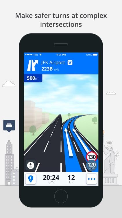 Sygic Western Europe: GPS Navigation, Offline Maps screenshot-4