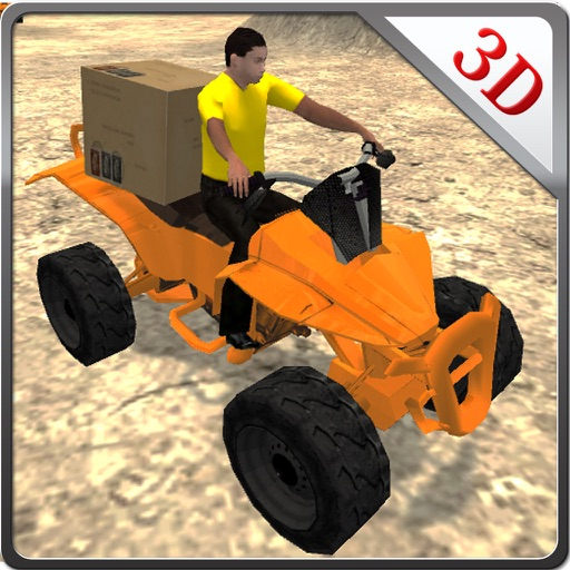 Quad Bike Cargo Delivery & Stunt Driver Simulator