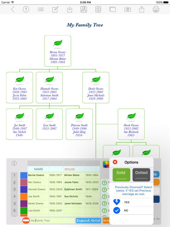 Family Tree App