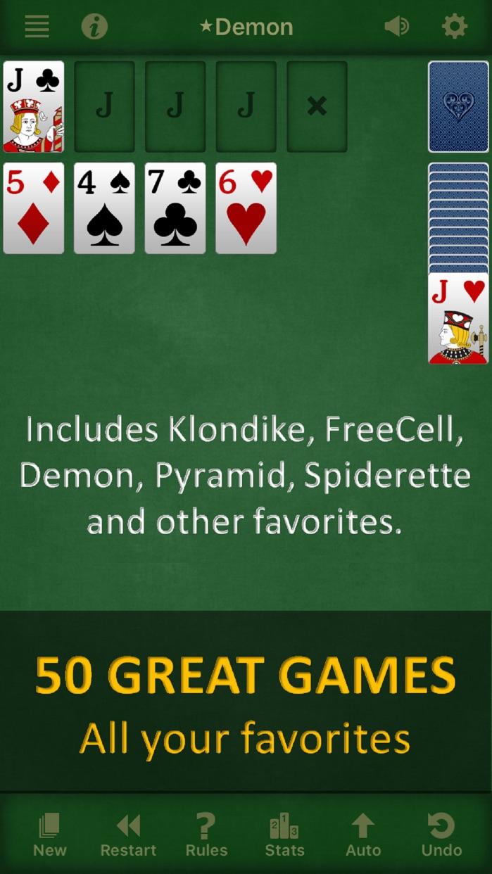 Solebon Solitaire Card Games Screenshot
