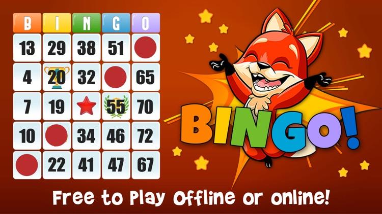 Bingo! Free Bingo Games - play offline no wifi