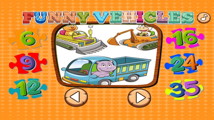 Kids Vehicle Games: Toddlers Learning Puzzle Free screenshot-3