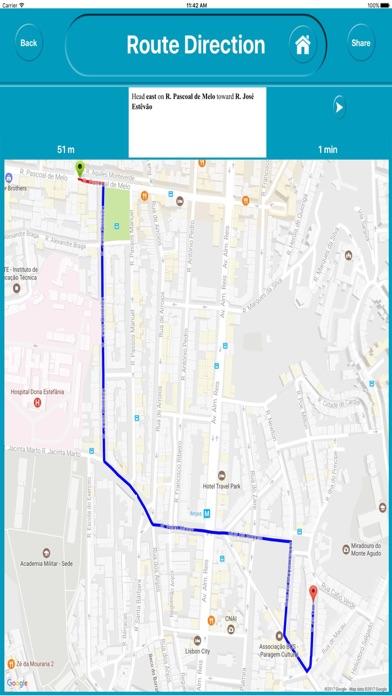 Lisbon Portugal City Offline Map Navigation EGATE | App Price Drops