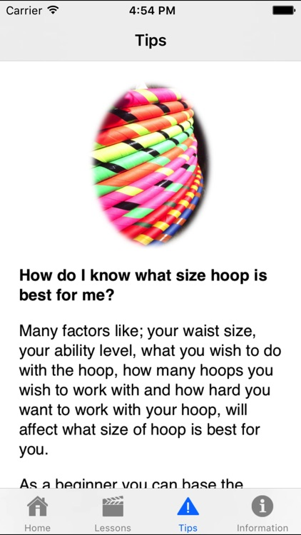 Learn to Hoop