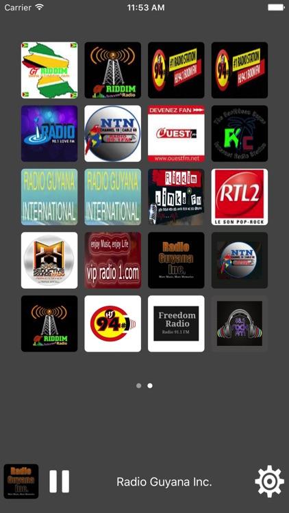 Radio Guyana - All Radio Stations