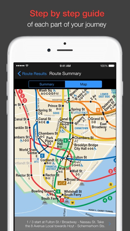 New York Subway - MTA map and route planner app image