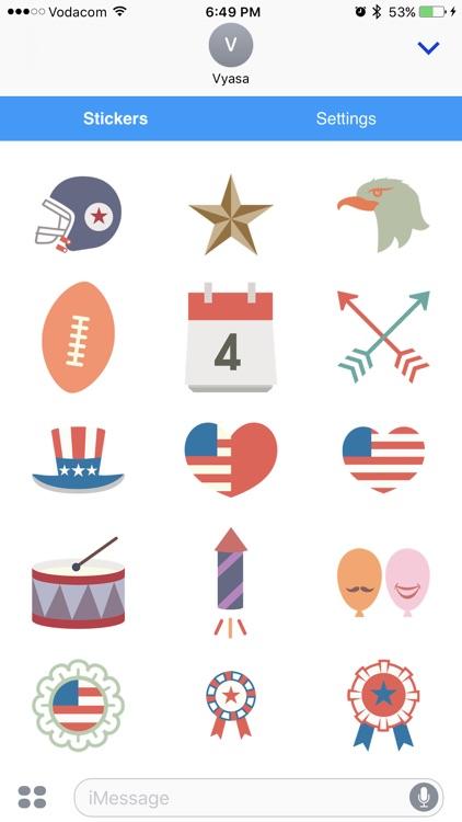 American Emoji - Great Emoticons for Texting screenshot-4