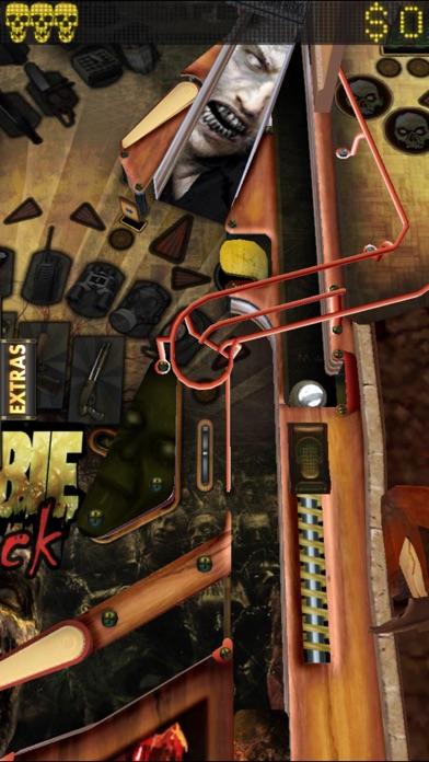 Zombie Attack Pinball HD: Monster Challenge screenshot two