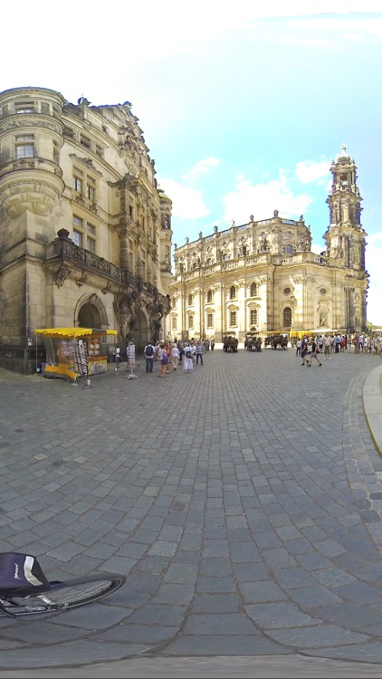 VR Cycle Rickshaw German City Virtual Reality 360 screenshot-3