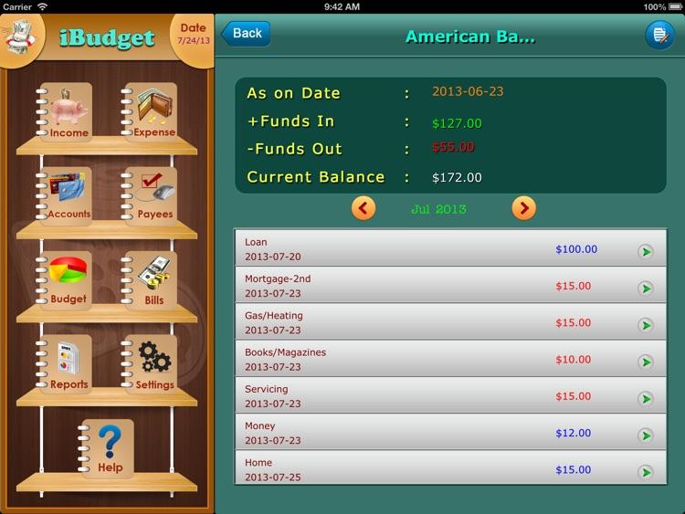 iXpense Tracker for iPad